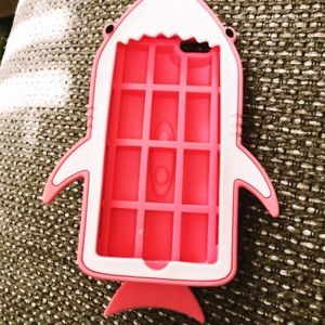 Authentic Stella McCartney Pink Shark IPhone Case